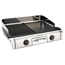 All-Clad Electric Grill & Griddle in Stainless Steel