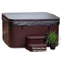 Hydromaster Deluxe Plug & Play 7 Person Spa in Brown