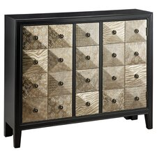 Treasures 4 Drawer Chest in Black