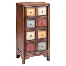 Brody 4 Drawer Chest in Brown