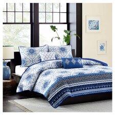 Cassy Coverlet Set in Blue