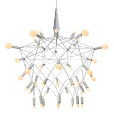 Orbit 40 Light Chandelier in Chrome