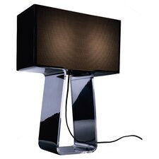 Tube Top Table Lamp in Charcoal