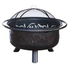 Antiqua Fire Pit in Oil Rubbed Bronze