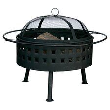 Outdoor Fire Pit in Black
