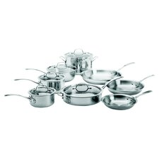 Try-Ply 13 Piece Cookware Set in Stainless Steel