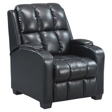 Home Theater Recliner in Black