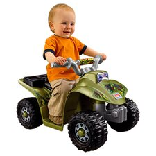 Power Wheels Ride On ATV in Green