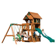 Windsor Play & Swing Set in Natural