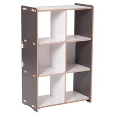 Sprout Bookshelf in Gray & White