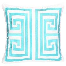 Huntington Stripe Throw Pillow in Blue