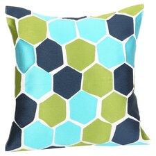 Balboa Park Throw Pillow in Green