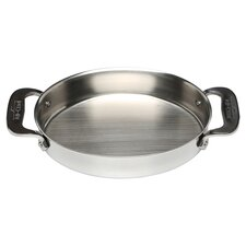 All-Clad Oval Baker in Stainless Steel