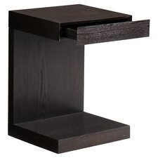 Bachelor End Table in Espresso