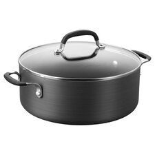 Calphalon Simply 5 Qt. Nonstick Soup Pot in Grey