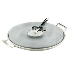 "All-Clad 13"" Pizza Baker Set in Stainless Steel"