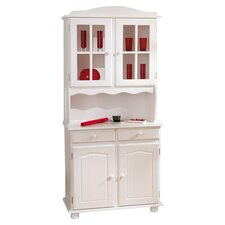 Valencia Display Cabinet in White