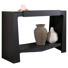 Camber Console Table in Black