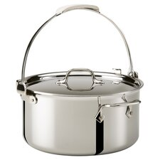 All-Clad 8 Qt. Pouring Stock Pot in Stainless Steel