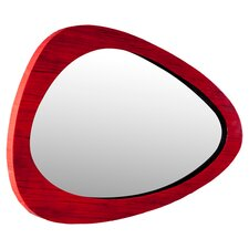 Bamboo  Abstract Wall Mirror