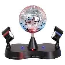 Novelty Lighting Disco Ball Table Lamp