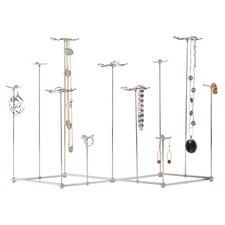 Gardenia Jewelry Stand in Silver