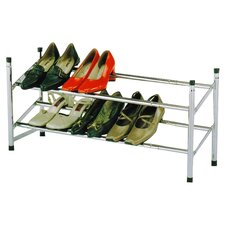 InRoom Shoe Rack in Silver