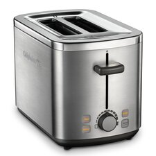 Calphalon Kitchen Electrics Toaster in Brushed Stainless Steel