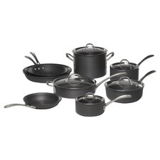 Calphalon Commercial 13 Piece Cookware Set in Black