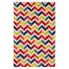 Strata Mixed Chevrons Pricm Rug