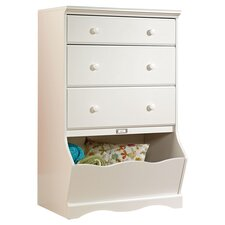 Pogo 3 Drawer Chest in White