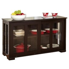 Pacific Wood Top Kitchen Island in Espresso