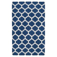 Frontier Mediterranean Blue & Winter White Rug