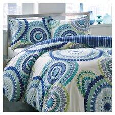 City Scene Radius Comforter Set in Blue