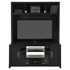 Woodland Entertainment Center in Black