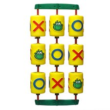 Tic-Tac-Toe Game in Green & Yellow