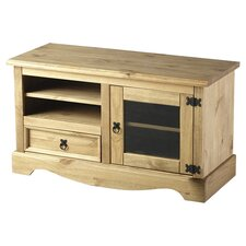 Corona Entertainment Unit in Pine