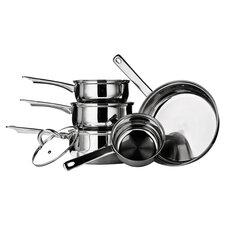 Premium 8 Piece Cookware Set I in Silver