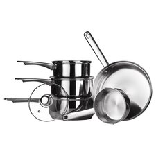 Premium 8 Piece Cookware Set II in Silver