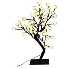 Tree Table Lamp in Black