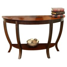Lewis Console Table in Walnut Cherry