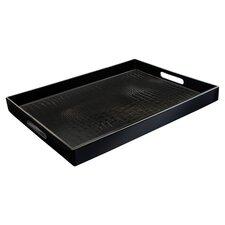 Alligator Tray in Black