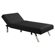 Emily Chaise Lounge in Black