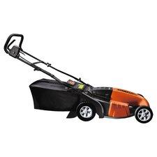 Worx Electric Lawn Mower in Black & Orange