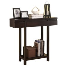Entry Hall Console Table in Cappuccino
