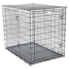 Solutions Pet Crate in Black