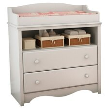 Heavenly Changing Table in White