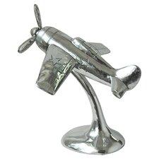 M2 Plane Figurine in Silver