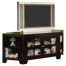 "Wellington 62"" Corner TV Stand in Espresso"