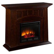 Kingsbury Electric Fireplace in Espresso